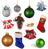 圣诞节收集 免版税图库摄影