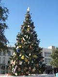 圣诞节故事书结构树 免版税库存照片