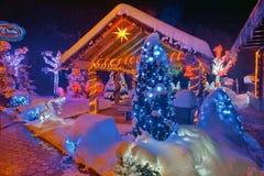 圣诞节故事在克罗地亚 免版税图库摄影