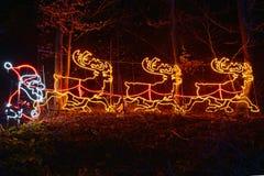 圣诞节故事在克罗地亚 免版税库存图片