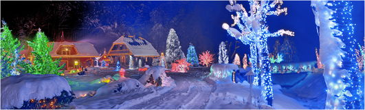 圣诞节故事在克罗地亚 图库摄影