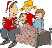 圣诞节故事 向量例证