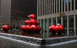 圣诞节新的季节约克 库存照片