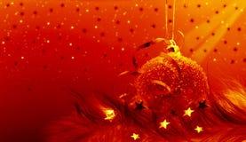 圣诞节新的装饰品年 免版税库存照片