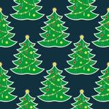 圣诞节无缝的pattern12 图库摄影