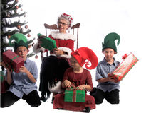圣诞节早晨 免版税图库摄影