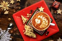 圣诞节早餐 免版税库存图片