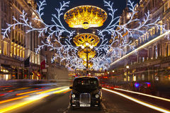 圣诞节时间在伦敦 库存图片