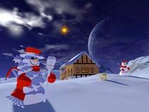 圣诞节时间 免版税库存照片
