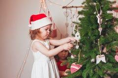 圣诞节时间心情 免版税库存图片