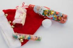 圣诞节时间概念,帽子, 库存照片