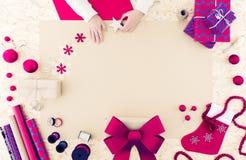 圣诞节时间的装饰 免版税库存图片