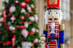 圣诞节时间胡桃钳 库存图片