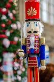 圣诞节时间胡桃钳 库存照片