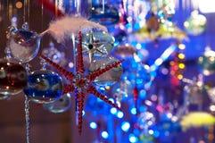 圣诞节时间,新年,抽象 免版税库存图片