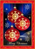 圣诞节明信片 图库摄影