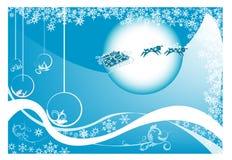 圣诞节明信片 免版税库存照片