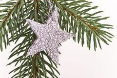 圣诞节星形结构树 图库摄影