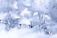 圣诞节星形 免版税库存图片
