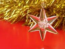 圣诞节星形 免版税库存照片