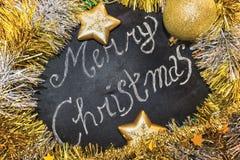 圣诞节星装饰品 图库摄影