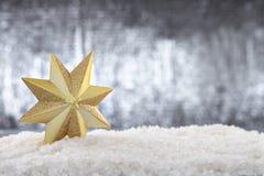 圣诞节星 库存照片