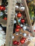 圣诞节显示 免版税库存照片