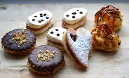 圣诞节曲奇饼姜饼做宫殿甜点 库存图片