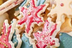 圣诞节曲奇饼混合 库存图片