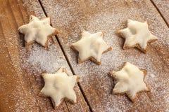 圣诞节曲奇饼(桂香) 库存图片