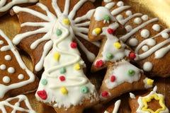 圣诞节曲奇饼 库存照片