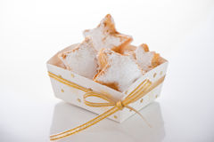 圣诞节曲奇饼 免版税库存图片