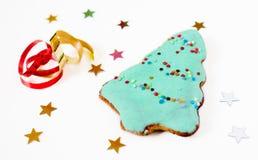 圣诞节曲奇饼 图库摄影