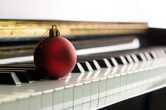 圣诞节曲调 库存图片