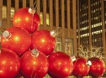 圣诞节曼哈顿 图库摄影