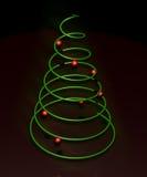 圣诞节最小的结构树 图库摄影