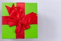 圣诞节有装饰的礼物盒 图库摄影