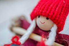 圣诞节木偶 库存图片