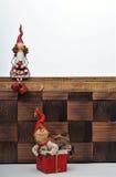 圣诞节木偶 免版税库存照片
