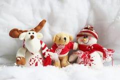 圣诞节木偶 免版税库存图片