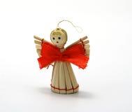 圣诞节木天使 库存图片