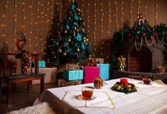 圣诞节材料 用shalow景深做的射击 有选择性 免版税库存照片