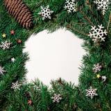 圣诞节构成,圣诞树枝杈, 库存图片