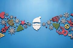 圣诞节构成,网络设计,新 免版税库存图片