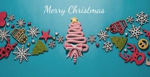 圣诞节构成,网络设计,新 免版税库存照片