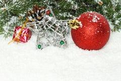 圣诞节构成 图库摄影