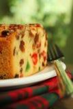 圣诞节果子蛋糕 免版税图库摄影