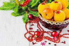 圣诞节果子 图库摄影