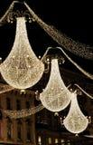 圣诞节枝形吊灯 库存图片