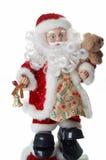 圣诞节查出圣诞老人 库存图片